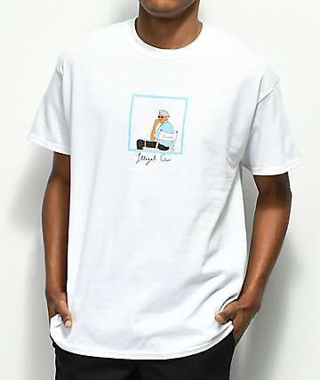 Illegal Civilization Director's Chair White T-Shirt