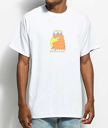 Illegal Civilization Eagles White T-Shirt