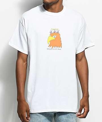 Illegal Civilization Eagles camiseta blanca