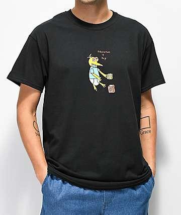 Illegal Civilization Education camiseta negra