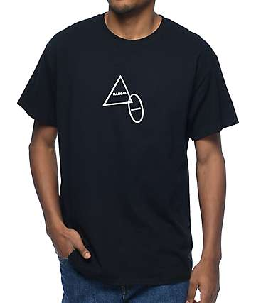 Illegal Civilization Triangle Black T-Shirt