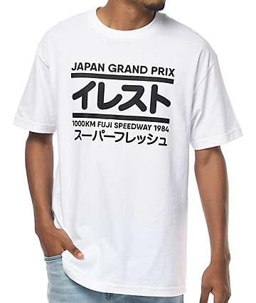 Illest Grand Prix camiseta blanca