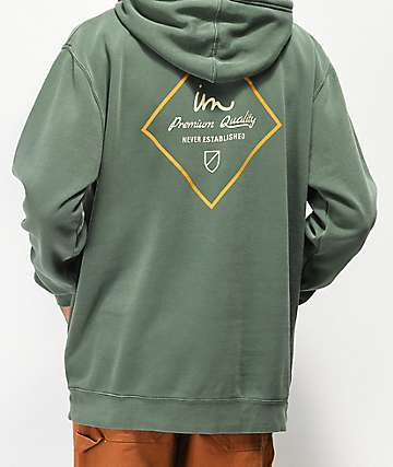 Imperial Motion Merchant Dark Green Hoodie