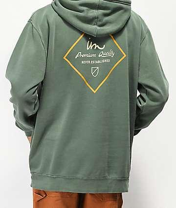 Imperial Motion Merchant sudadera con capucha verde