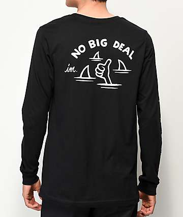 Imperial Motion No Big Deal Black Long Sleeve T-Shirt
