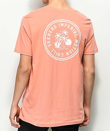 Imperial Motion Seeker Coral T-Shirt