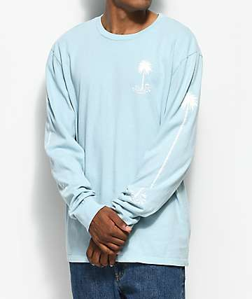 Imperial Motion Seeker Stack Aqua Long Sleeve T-Shirt