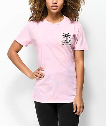 Imperial Motion Shade camiseta tie dye rosa
