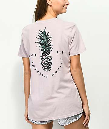 Imperial Motion Sliced Mauve Pink T-Shirt