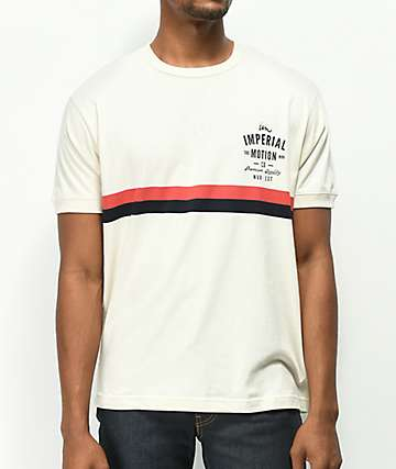 Imperial Motion Warrant Camp camiseta beige