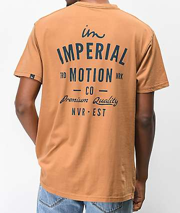 Imperial Motion Warrant Tobacco Brown T-Shirt