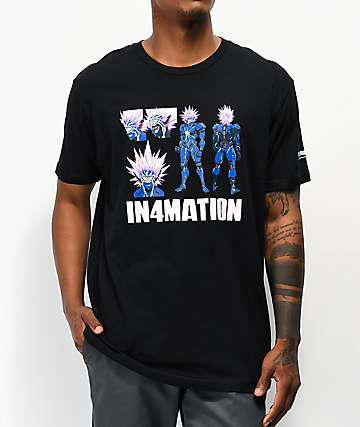 In4mation x One Punch Man Boros Black T-Shirt