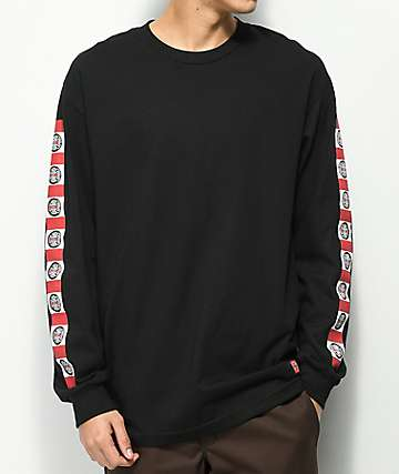 Independent Banner Black Long Sleeve T-Shirt