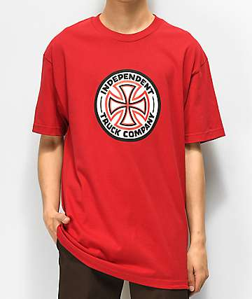 Independent Cross Red T-Shirt