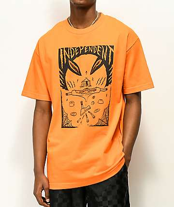 Independent Hitz Ritual Decommissioning Orange T-Shirt