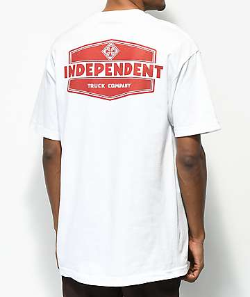 Independent Industry camiseta blanca