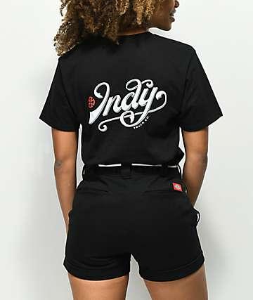 Independent Lit camiseta negra