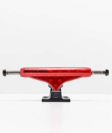 Independent Luan Transmission Matte Red 139 Skateboard Truck