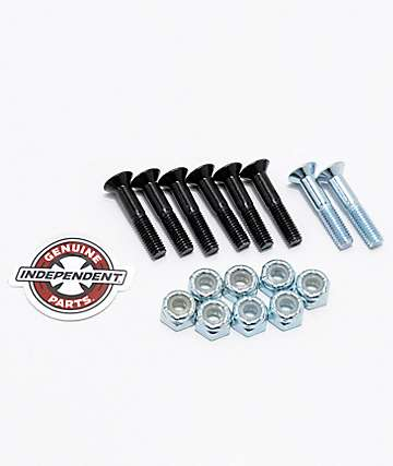 "Independent Silver Crossbolts 1"" tornillos skate"