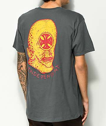 Independent Stearns Cyclops camiseta en color carbón