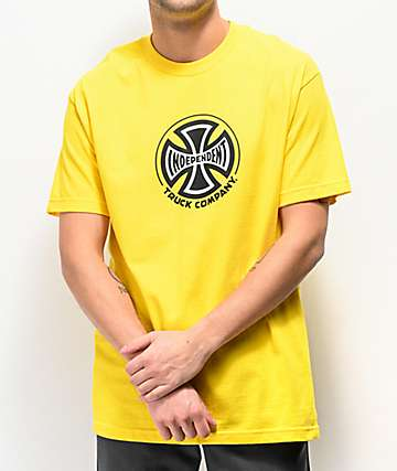Independent Truck Co. Yellow T-Shirt