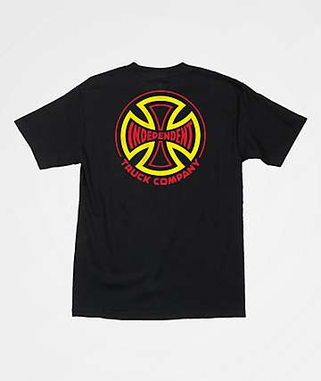 Independent Two Tone Black T-Shirt