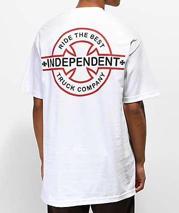 Independent Underground White T-Shirt