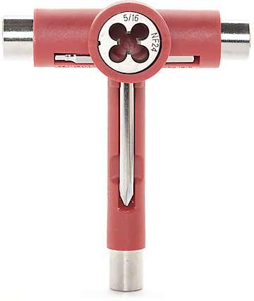 Independent herramientas de skateboard en rojo