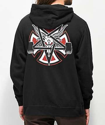 Independent x Thrasher Pentagram Black Hoodie