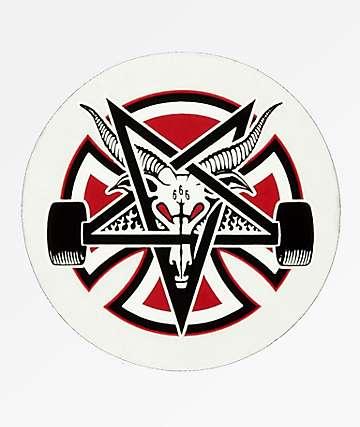 Independent x Thrasher Sticker