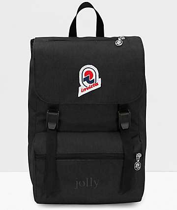 Invicta Jolly Solid Black Backpack