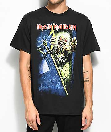 Iron Maiden Prayers Black T-Shirt