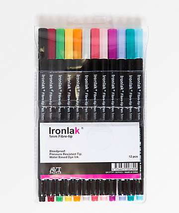 Ironlak Series 1 marcadores de punta de fibra