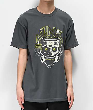 J!NX Battle Tested Charcoal T-Shirt