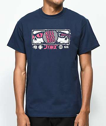 J!NX Bloodlust Navy T-Shirt
