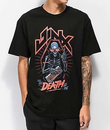 J!NX Til Death camiseta negra