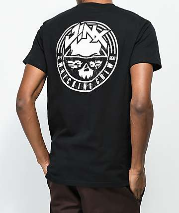 J!NX Wrecking Crew Black T-Shirt