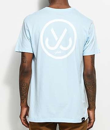 JSLV Hooks 2 Select camiseta en azul pálido