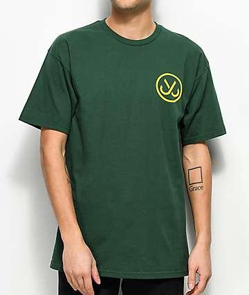 JSLV Hooks Select camiseta verde y color amarillo