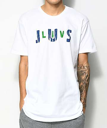 JSLV Jam Select White T-Shirt