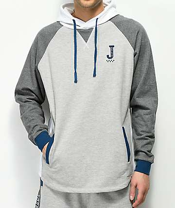 JSLV Majors Custom Grey & White Hoodie