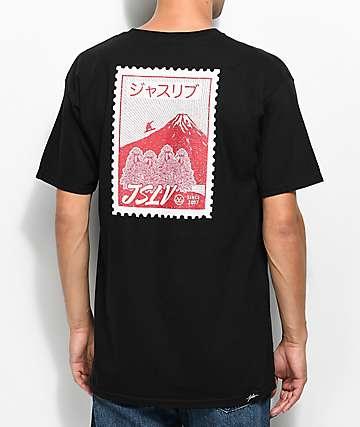 JSLV Postage Black T-Shirt