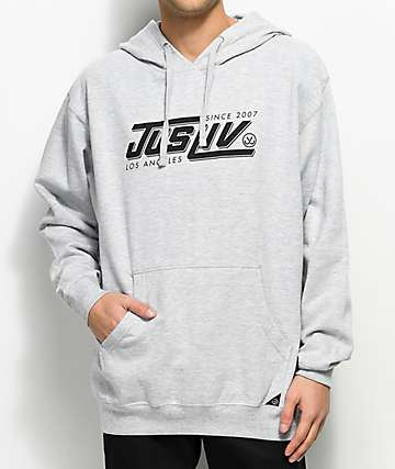 JSLV Speed Heather Grey Hoodie