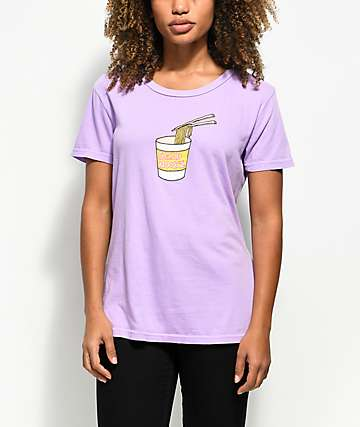 JV By Jac Vanek Send Noods 2 Purple T-Shirt