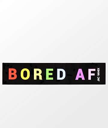 JV by Jac Vanek Bored AF Sticker