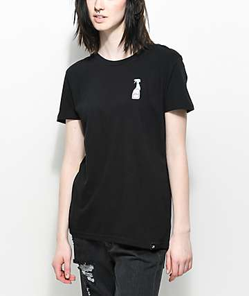 JV by Jac Vanek Idiot Repellent Black T-Shirt