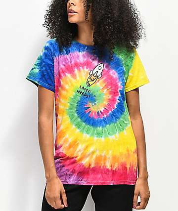 JV by Jac Vanek Later Nerds camiseta tie dye