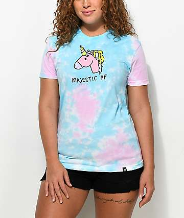 JV by Jac Vanek Majestic AF Tie Dye T-Shirt