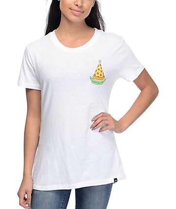 JV by Jac Vanek Merry Crustmas White T-Shirt