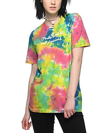 JV by Jac Vanek Pretty Good camiseta con efecto tie dye
